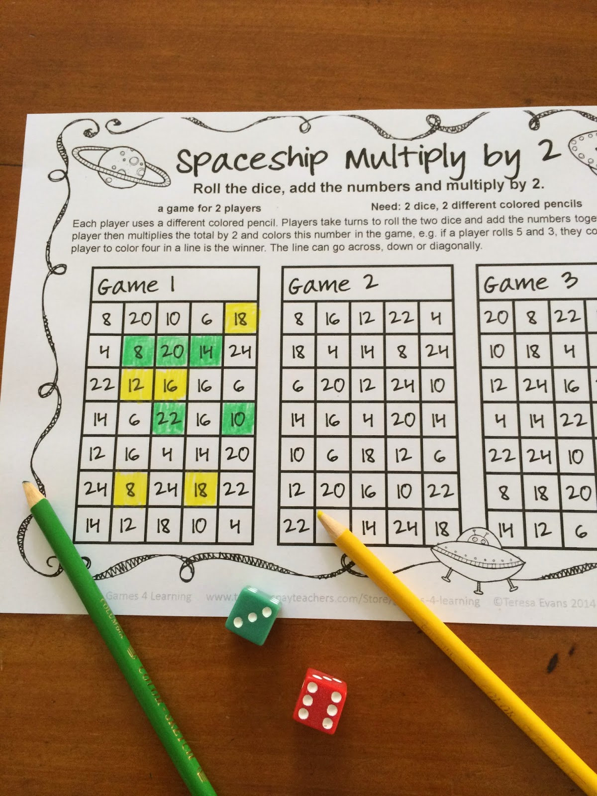 Fun Games 4 Learning Multiplication Fun